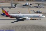 Chofu Spotter Ariaさんが、羽田空港で撮影したアシアナ航空 A321-231の航空フォト(飛行機 写真・画像)
