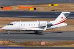 Chofu Spotter Ariaさんが、羽田空港で撮影したBAA - Business Aviation Asia CL-600-2B16 Challenger 605の航空フォト(飛行機 写真・画像)
