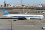 Chofu Spotter Ariaさんが、羽田空港で撮影した中国南方航空 777-31B/ERの航空フォト(飛行機 写真・画像)