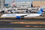 Chofu Spotter Ariaさんが、羽田空港で撮影したユナイテッド航空 787-10の航空フォト(飛行機 写真・画像)