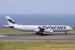 yabyanさんが、中部国際空港で撮影したフィンエアー A340-313Xの航空フォト(飛行機 写真・画像)