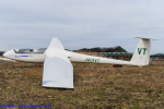 Chofu Spotter Ariaさんが、角田滑空場で撮影した東北大学学友会航空部 - Tohoku University Aviation Club LS4-bの航空フォト(飛行機 写真・画像)