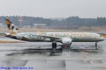 Chofu Spotter Ariaさんが、成田国際空港で撮影したエティハド航空 787-9の航空フォト(飛行機 写真・画像)