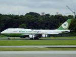 worldstar777さんが、シンガポール・チャンギ国際空港で撮影したエバー航空 747-45E(SF)の航空フォト(飛行機 写真・画像)
