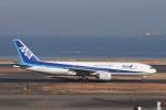 KAZFLYERさんが、羽田空港で撮影した全日空 777-281の航空フォト(飛行機 写真・画像)