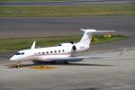 yabyanさんが、中部国際空港で撮影したBANK OF UTAH TRUSTEE G650 (G-VI)の航空フォト(飛行機 写真・画像)