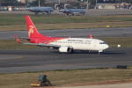 OMAさんが、台湾桃園国際空港で撮影した深圳航空 737-87Lの航空フォト(飛行機 写真・画像)