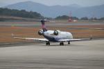 watreeさんが、広島空港で撮影したアイベックスエアラインズ CL-600-2C10 Regional Jet CRJ-702の航空フォト(飛行機 写真・画像)
