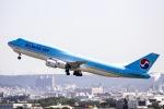 kikiさんが、台湾桃園国際空港で撮影した大韓航空 747-8B5の航空フォト(飛行機 写真・画像)