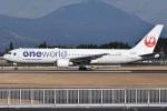 MOR1(新アカウント)さんが、鹿児島空港で撮影した日本航空 767-346の航空フォト(飛行機 写真・画像)