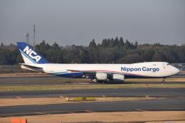 turenoアカクロさんが、成田国際空港で撮影した日本貨物航空 747-8KZF/SCDの航空フォト(飛行機 写真・画像)