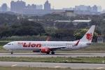 kikiさんが、台湾桃園国際空港で撮影したタイ・ライオン・エア 737-9GP/ERの航空フォト(飛行機 写真・画像)