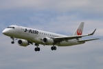 Kuuさんが、鹿児島空港で撮影したジェイ・エア ERJ-190-100(ERJ-190STD)の航空フォト(飛行機 写真・画像)