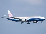 むらさめさんが、新千歳空港で撮影したチャイナエアライン 777-309/ERの航空フォト(飛行機 写真・画像)