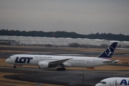 nontan8さんが、成田国際空港で撮影したLOTポーランド航空 787-9の航空フォト(飛行機 写真・画像)
