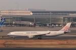 KAZFLYERさんが、羽田空港で撮影したチャイナエアライン A330-302の航空フォト(飛行機 写真・画像)