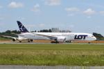 kuro2059さんが、成田国際空港で撮影したLOTポーランド航空 787-9の航空フォト(飛行機 写真・画像)