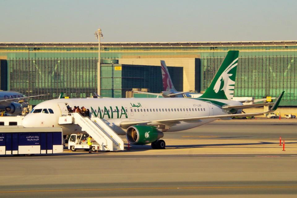 ちっとろむさんのカタール航空 Airbus A320 (A7-LAB) 航空フォト