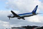 どんちんさんが、福岡空港で撮影した全日空 777-281/ERの航空フォト(飛行機 写真・画像)