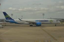 anagumaさんが、パリ オルリー空港で撮影したエア・カライベス A350-941の航空フォト(飛行機 写真・画像)