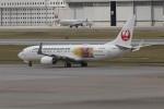 U.Tamadaさんが、那覇空港で撮影した日本トランスオーシャン航空 737-8Q3の航空フォト(飛行機 写真・画像)