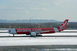 ktaroさんが、新千歳空港で撮影したタイ・エアアジア・エックス A330-941の航空フォト(飛行機 写真・画像)