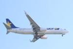 AIR兄ぃさんが、羽田空港で撮影したスカイマーク 737-8HXの航空フォト(飛行機 写真・画像)