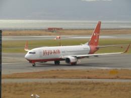 commet7575さんが、関西国際空港で撮影したチェジュ航空 737-8Q8の航空フォト(飛行機 写真・画像)