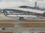 commet7575さんが、関西国際空港で撮影したキャセイパシフィック航空 A330-343Xの航空フォト(飛行機 写真・画像)