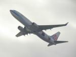 commet7575さんが、関西国際空港で撮影したチャイナエアライン 737-8FHの航空フォト(飛行機 写真・画像)