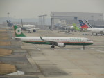 commet7575さんが、関西国際空港で撮影したエバー航空 A321-211の航空フォト(飛行機 写真・画像)