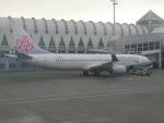 ヒロリンさんが、高雄国際空港で撮影したチャイナエアライン 737-8SHの航空フォト(飛行機 写真・画像)