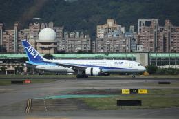 Musondaさんが、台北松山空港で撮影した全日空 787-8 Dreamlinerの航空フォト(飛行機 写真・画像)