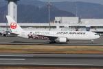 神宮寺ももさんが、高松空港で撮影した日本航空 767-346の航空フォト(飛行機 写真・画像)