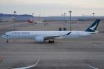 SFJ_capさんが、中部国際空港で撮影したキャセイパシフィック航空 A350-1041の航空フォト(飛行機 写真・画像)