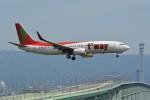 k-spotterさんが、関西国際空港で撮影したティーウェイ航空 737-8Q8の航空フォト(飛行機 写真・画像)