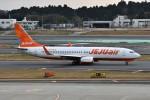 k-spotterさんが、成田国際空港で撮影したチェジュ航空 737-8ASの航空フォト(飛行機 写真・画像)