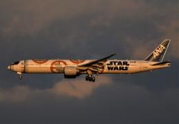 鉄バスさんが、成田国際空港で撮影した全日空 777-381/ERの航空フォト(飛行機 写真・画像)