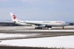 北の熊さんが、新千歳空港で撮影した中国東方航空 A330-343Xの航空フォト(飛行機 写真・画像)