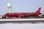 北の熊さんが、新千歳空港で撮影した吉祥航空 A321-211の航空フォト(飛行機 写真・画像)
