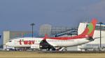 パンダさんが、成田国際空港で撮影したティーウェイ航空 737-8HXの航空フォト(飛行機 写真・画像)