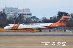 tassさんが、成田国際空港で撮影したエリクソン・エアロ・タンカー MD-87 (DC-9-87)の航空フォト(飛行機 写真・画像)