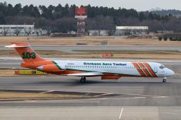 kuraykiさんが、成田国際空港で撮影したエリクソン・エアロ・タンカー MD-87 (DC-9-87)の航空フォト(飛行機 写真・画像)