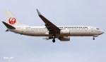 RINA-281さんが、小松空港で撮影した日本トランスオーシャン航空 737-8Q3の航空フォト(飛行機 写真・画像)
