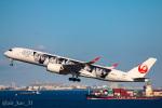 かっちゃん✈︎さんが、羽田空港で撮影した日本航空 A350-941XWBの航空フォト(飛行機 写真・画像)