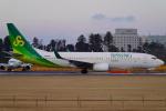 SFJ_capさんが、成田国際空港で撮影した春秋航空日本 737-8ALの航空フォト(飛行機 写真・画像)