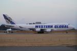 SFJ_capさんが、成田国際空港で撮影したウエスタン・グローバル・エアラインズ 747-446(BCF)の航空フォト(飛行機 写真・画像)