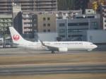林 真之輔さんが、福岡空港で撮影した日本トランスオーシャン航空 737-8Q3の航空フォト(飛行機 写真・画像)