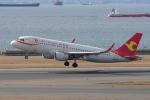 yabyanさんが、中部国際空港で撮影した天津航空 A320-214の航空フォト(飛行機 写真・画像)