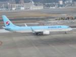 林 真之輔さんが、福岡空港で撮影した大韓航空 737-9B5/ER の航空フォト(飛行機 写真・画像)